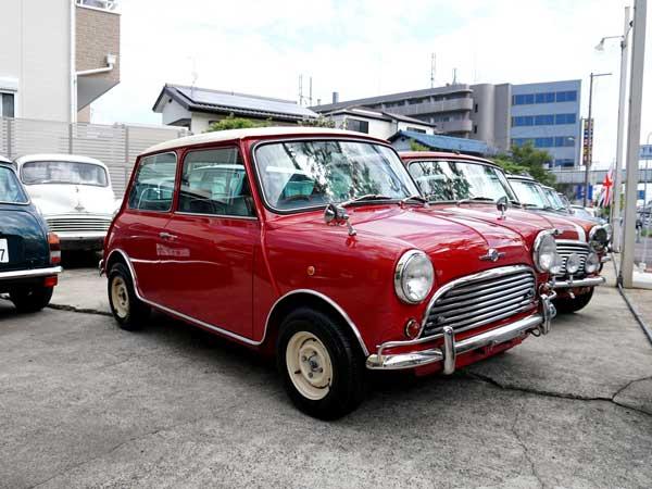 1998年式ミニ/赤/M/T/1300cc